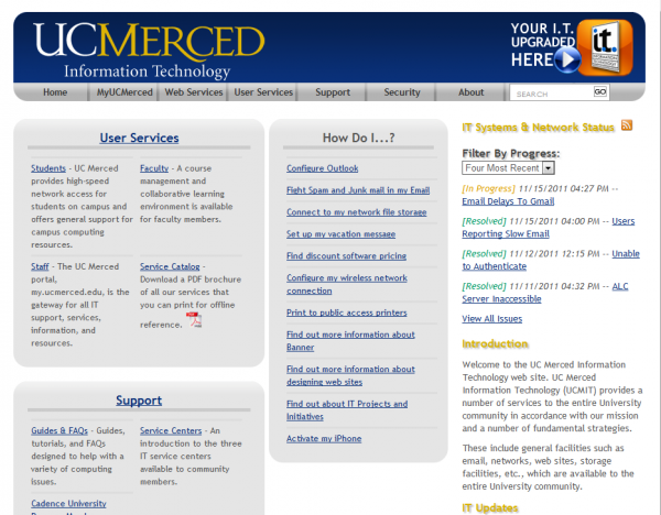 it.ucmerced.edu old home page